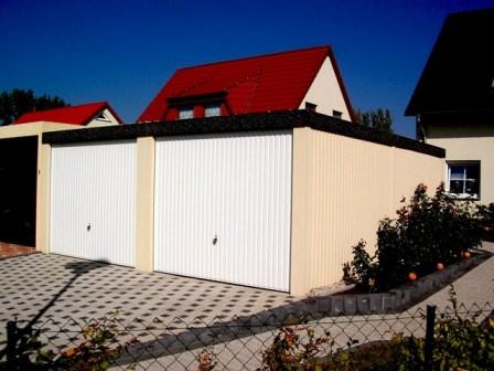 Doppel Garage