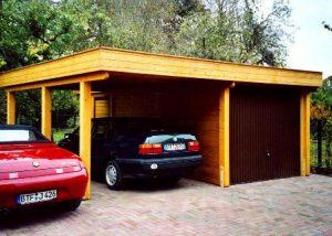 Garage und Carport